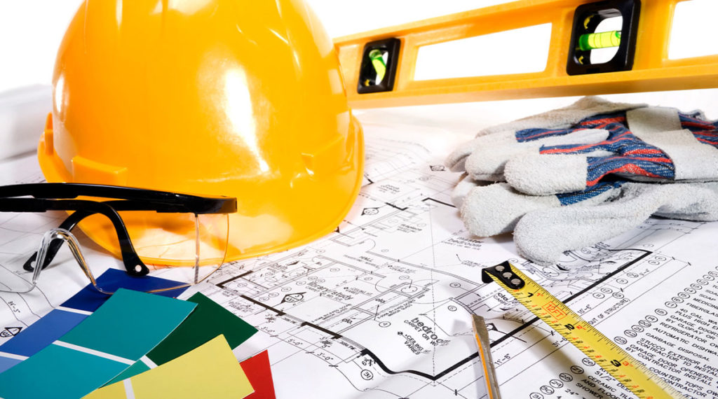photo of hard hat and other tools for the blog post how to sell a house that needs major repairs in new jersey - quick home buyers nj